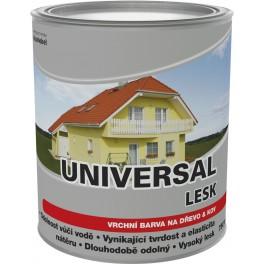 Dulux Universal lesk šeď střední  0,75L