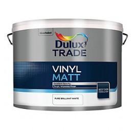 Dulux Vinyl Matt bílá PBW 10,00L