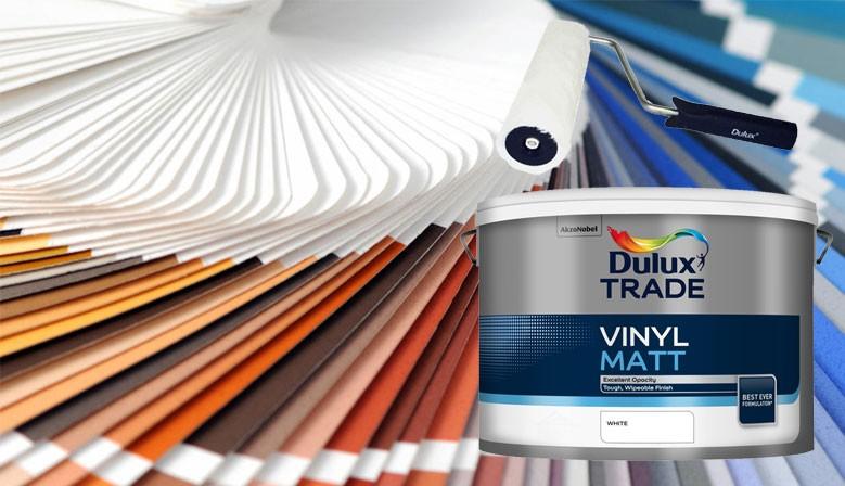 Akce Dulux Vinyl Matt 10 L 1319 Kč a váleček DULUX zdarma