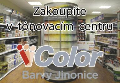 Zakoupíte v tónovacím centru ICOLOR Barvy Jinonice